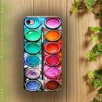 iphone case, i phone 4 4s 5 case, iphone4 iphone4s iphone5 case,stylish plastic rubber silicone cases cover colorful paint box