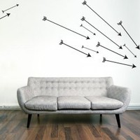 Cupids Arrows Wall Art Decal