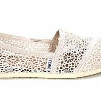 F1670Nat Toms Classics Womens Crochet Espadrilles Shoes Us 7 Uk5