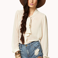 Essential Chiffon Top | FOREVER 21 - 2078336541