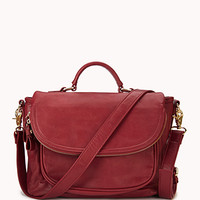 Everyday Faux Leather Satchel | FOREVER 21 - 1060868258