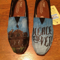 Pierce the Veil custom TOMS