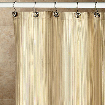 noble excellence metallic stripe shower from dillard 39 s