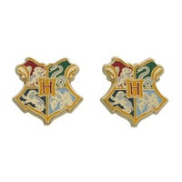 Harry Potter Hogwarts Crest Earrings | Hot Topic