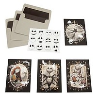 Tim Burton's The Nightmare Before Christmas Note Card Set | Disney Store