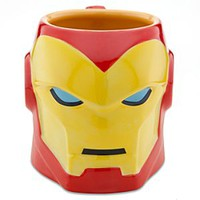 Sculptured Iron Man Mug | Disney Store