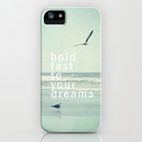 hold fast to your dreams iPhone & iPod Case by Sylvia Cook Photography