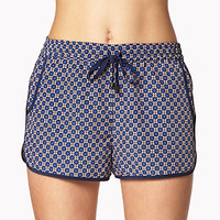 Retro Print Dolphin Shorts | FOREVER 21 - 2045607842