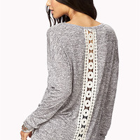 Meadow Crochet Sweater | FOREVER 21 - 2074385080