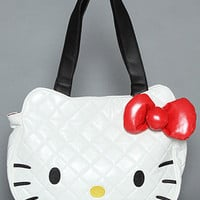 Hello Kitty Quilted Handbag