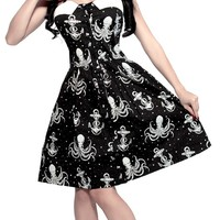 SOURPUSS OUT TO SEA DRESS CREAM - Dresses - Gals