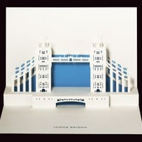 Tower Bridge pop-up card from Paper Tango Limited | Made By Judy Robinson | £5.99 | BOUF