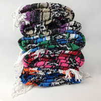 Recycled Mexican Falsa Blanket -- Mexicali Blues