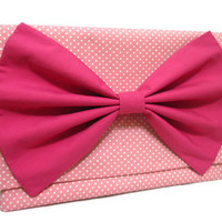 "13"" Macbook Case Pink Bow Laptop Case"