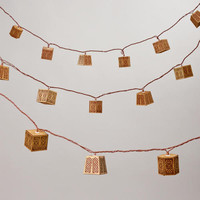 Carved Wood String Lights | World Market