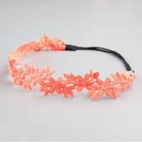 FULL TILT Crochet Flower Headband