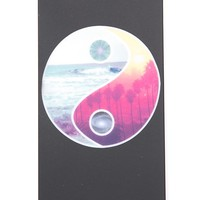 Brandy ♥ Melville |  Black YinYang iPhone 5 Case - Just In