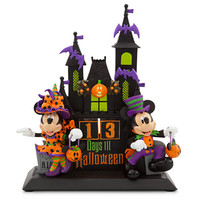 Disney Minnie and Mickey Mouse Figural Halloween Countdown Calendar | Disney Store