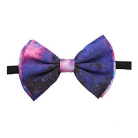 Galaxy Print Bow Tie | Hot Topic