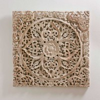 White Lotus Wall Art - VivaTerra