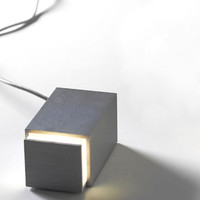 Design House Stockholm Aluminum BOX light designed by Jonas Hakaniemi