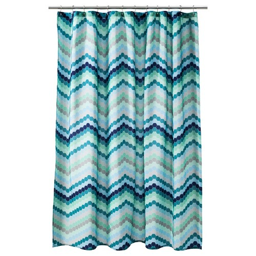 Room Essentials Chevron Shower Curtain From Target