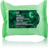 The Body Shop Tea Tree Cleansing Wipes 25 Ct Ulta.com - Cosmetics, Fragrance, Salon and Beauty Gifts