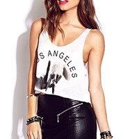 Statement Making LA Tank | FOREVER 21 - 2000065541