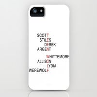 Teen Wolf  iPhone & iPod Case by Dan Lebrun