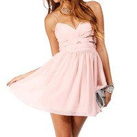 Elly- Short Paradise Pink Prom Dress
