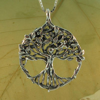 Tree of Life Pendant - Circle of Life Tree Pendant