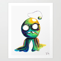 BOBsicle Art Print by Ben Geiger