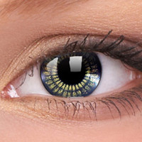 Black Gold Jewel Contact Lenses, Black Gold Jewel Colour Contacts | EyesBright.com