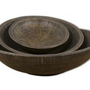 Makeda, Bowls, Set/3 UTTERMOST Outlet Discount Selections  DECORATIVE TABLETOP ACCESSORIES Furniture at Good's Home Furnishings, Hickory NC