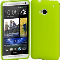 Cimo Grip Back Case Flexible TPU Cover for HTC One (M7) - Green:Amazon:Cell Phones & Accessories