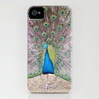 peacock iPhone Case by Beverly LeFevre | Society6