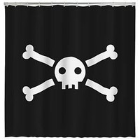 Jolly Roger Shower Curtain