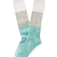 2-Pack Colorblock Boot Socks