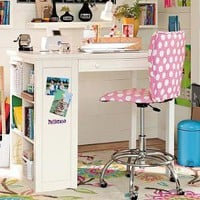 Small Spaces Tall Desk | PBteen