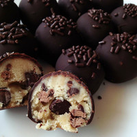 Cookie Dough Truffles  Cookie Dough Cake Balls by SugarpopBakeshop