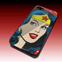 Wonder Woman Design Hard Plastic Case For iPhone 4/4S, iPhone 5, Samsung Galaxy S3 i9300, Samsung Galaxy S4 i9500
