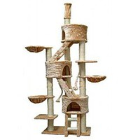 "GoPetClub ""Jungle GYM"" Cat Tree Furniture Condo Bed House Pet Scratcher Post FC01"