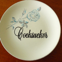 MATURE Cocksucker plate