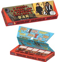 Priest Rabbi Penguin Bar & Activity Kit - Includes History of Comedy and more - Whimsical & Unique Gift Ideas for the Coolest Gift Givers