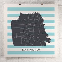 ORANGE & PARK - San Francisco print