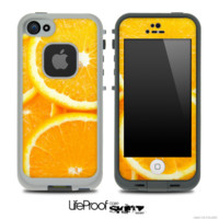 Fruity Orange Slice Skin for the iPhone 5 or 4/4s LifeProof Case - iPhone