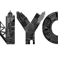 """Nyc"" - Art Print by Robert Farkas"