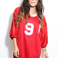 Lucky Number 9 Sports Top - Furor Moda - Tops - Dresses - Jackets - Vintage