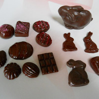 CHOCOLATE SET Easter Bunny Mixed Chocolates 15 inch and larger dolls Our Generation American Girl