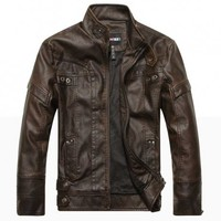 The Ton Up Jack Brown - leatherandcotton